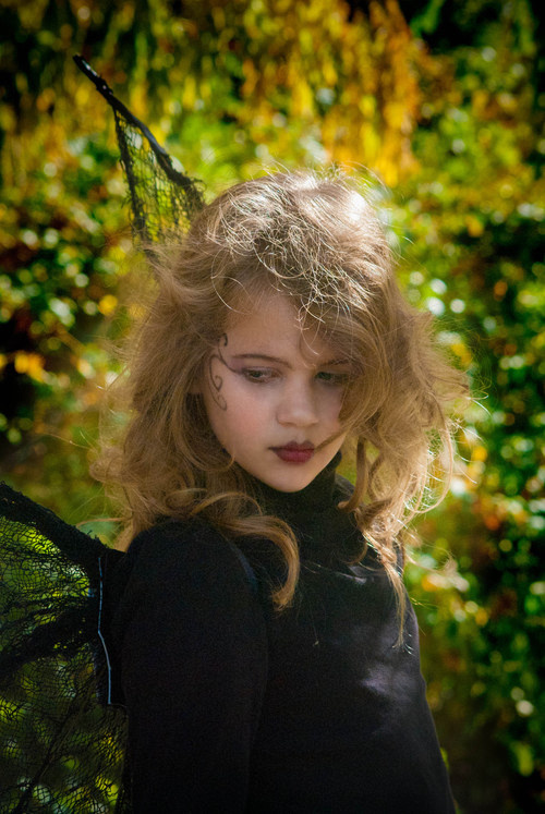 """My daughter the """"goth fairy"""""""