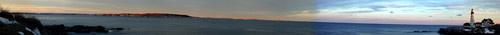 Portland Headlight, Maine. 18 images 16,413x1150